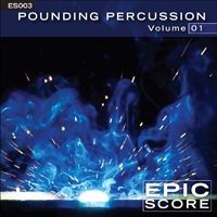 ES003 POUNDING PERCUSSION VOLUME 1
